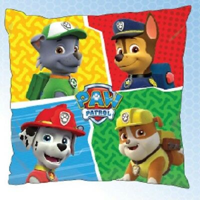 PAW PATROL PUPS Chase Marshall Rocky Rubble cushion cover 40x40cm pillow cover