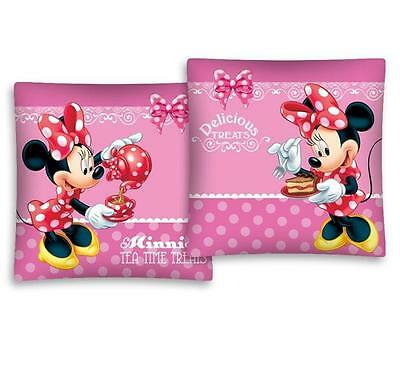 NEW Disney MINNIE Mouse DELICIOUS TREATS cushion cover 40x40cm 100% COTTON