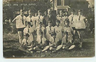 Spartakiades d'Aout 1928 - MOSCOU - Les Red Star Girls