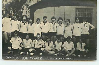 Spartakiades d'Aout 1928 - MOSCOU - Red Star Club ouvrier - Section Féminine