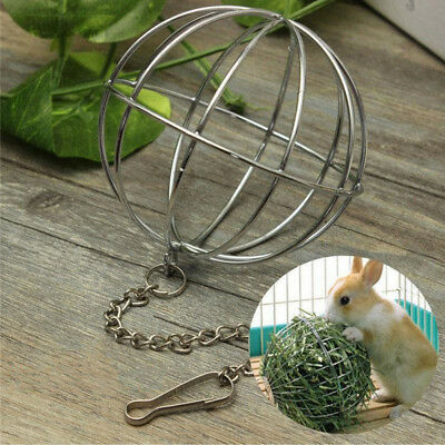 Pets Stainless Steel Round Grass Ball For Chinchilla Rabbit Feeding Accessories