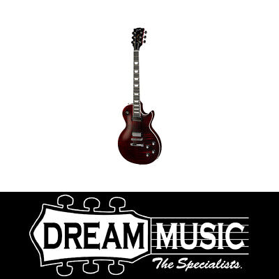 Gibson Les Paul Deluxe Player Plus Wine Red Vintage Electric Guitar 2018