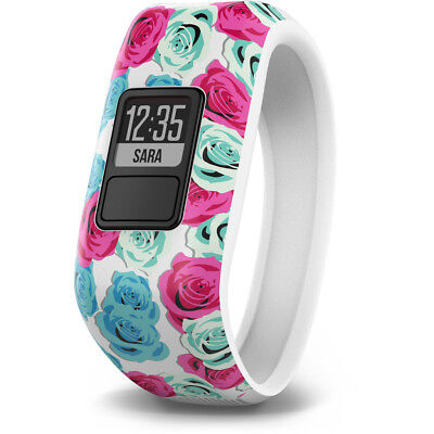 Garmin Vívofit Fitness Tracker Juniors real flower 2018 Cardio pink