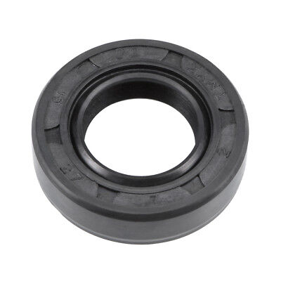 Oil Seal, TC 15mm x 27mm x 7mm, Nitrile Rubber Cover Double Lip