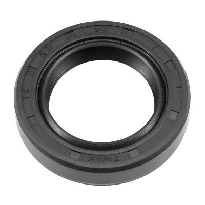 Oil Seal, TC 22mm x 34mm x 7mm, Nitrile Rubber Cover Double Lip