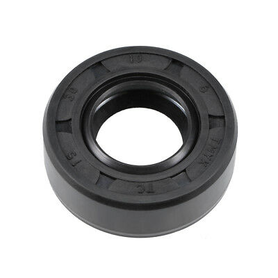 Oil Seal, TC 15mm x 30mm x 10mm, Nitrile Rubber Cover Double Lip