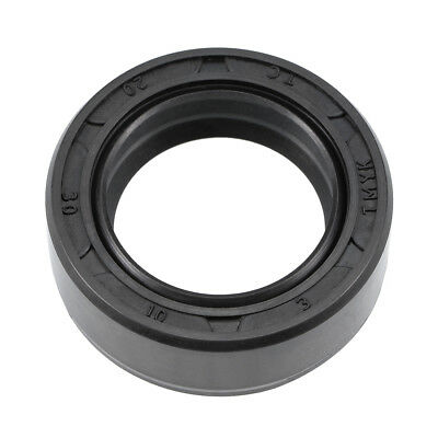Oil Seal, TC 20mm x 30mm x 10mm, Nitrile Rubber Cover Double Lip