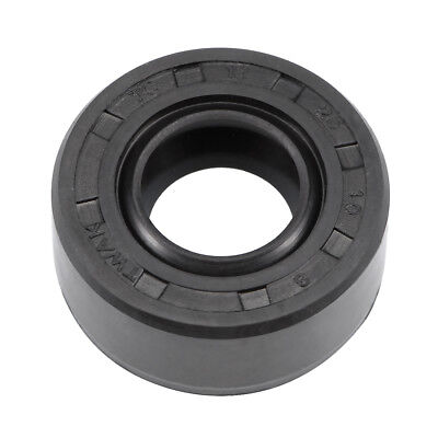 Oil Seal, TC 12mm x 25mm x 10mm, Nitrile Rubber Cover Double Lip