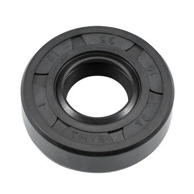 Oil Seal, TC 16mm x 35mm x 10mm, Nitrile Rubber Cover Double Lip
