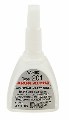 Aron Alpha Type 201 (2 cps viscosity) Regular Set Instant Adhesive 20 g (0.7 oz)