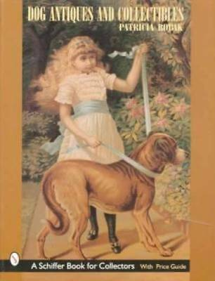 SIGNED PATRICIA ROBAK Dog Antiques & Collectibles Book Paintings Figures Jewelry