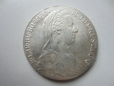ÖSTERREICH: MARIA-THERESIA-TALER 1780 S.F. - Burg Cotyr