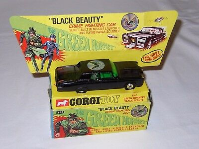 THE GREEN HORNET'S BLACK BEAUTY - CORGI n. 268 n/MIB - 1966 - OLD STORE STOCK