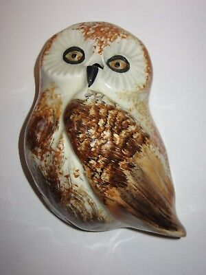 Toni Raymond Owl Pottery Decorative Scissor And String Dispenser