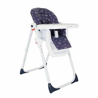 My Babiie Catwalk Collection By Abbey Clancy Highchair / High Chair - Navy Stars