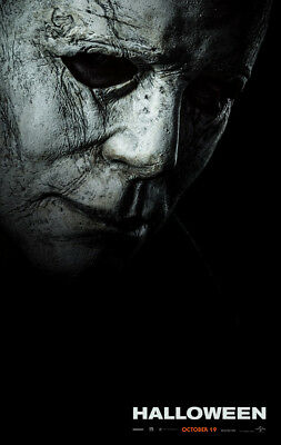 HALLOWEEN MOVIE POSTER 2 Sided ORIGINAL Advance 2018 VF 27x40 MICHAEL MYERS