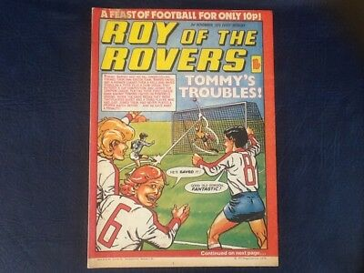 ROY OF THE ROVERS COMIC 3rd NOVEMBER 1979.