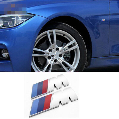 Vehicle Parts & Accessories Car Body & Exterior Styling Parts 2 Ps M Tech Luxury Line Fender ABS Badge Emblems High Quality Sticker S315x2