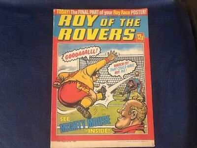 ROY OF THE ROVERS COMIC 16th FEBRUARY 1980.