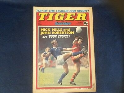 TIGER and SCORCHER 10th MAY 1980. MILLS and ROBERTSON ON COVER