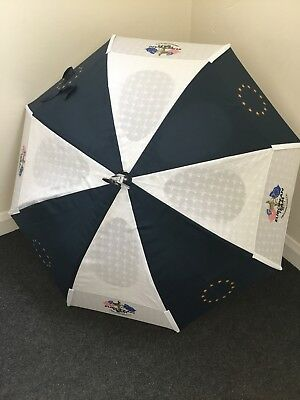 Ryder Cup Seat Style Windproof Golf Umbrella - Navy/White