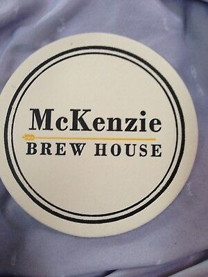 Mckenzie Brew House Beer Coaster  Mint  Malvern Devon Chadds Ford Pa !!!!