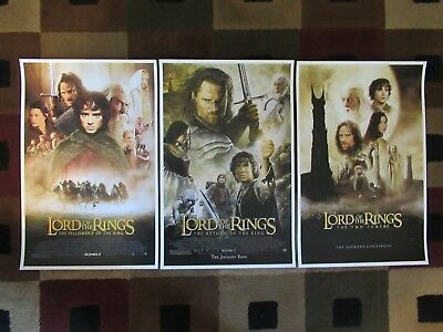 """Lord of the Rings (11"""" x 17"""") Movie Collector's Poster Prints ( Set of 3 )"""