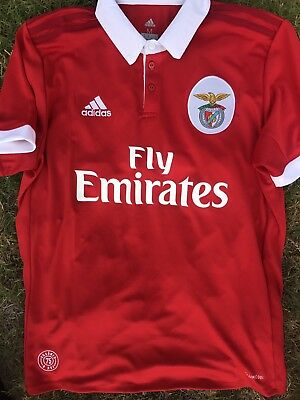 Maillot Rare Benfica 36 Campeao Taille L