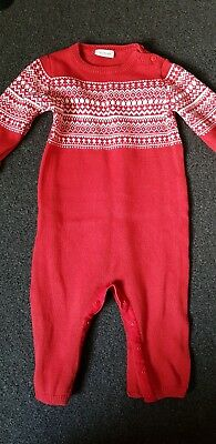 Next Knitted Romper 9-12 Months