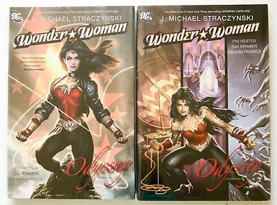 Wonder Woman Odyssey Vol. 1 & 2 NEW Hardcover DC Graphic Novel Comic Book