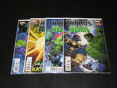 Marvel Thanos Vs Hulk 1-4 Complete! NM!