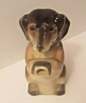 VINTAGE 40s-50s ERPHILA Made  in Germany Porcelain Dachshund Dog Teapot