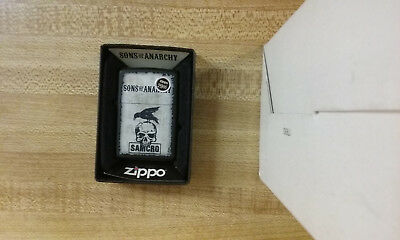 Zippo Sons Of Anarchy Samcro 2014 Unfired