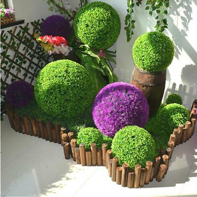 Artificial Plant Ball Topiary Tree Boxwood Home Wedding Party Decor Striking D