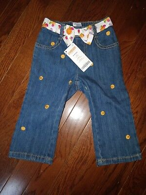 NWT Gymboree 12-18 Month Embroidered Jeans
