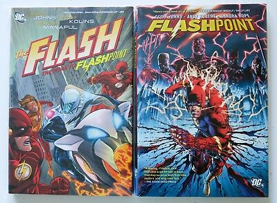 The Flash Road to Flashpoint + Flashpoint HC NEW DC Graphic Novel Comic Book