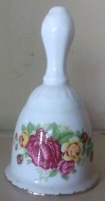 Cottage Rose Bell - Fine Bone China