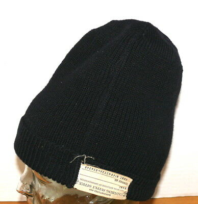 Original Post WWII 1950's USN US NAVY Wool KNIT WATCH CAP