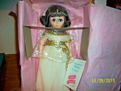 Vintage Madame  Alexander  # 1315 Cleopatra 12 inch Doll in box with tag
