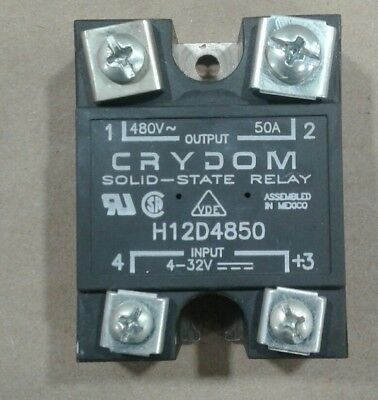 Crydom H12WD4850 Solid State Relay 4-32VDC #007D2