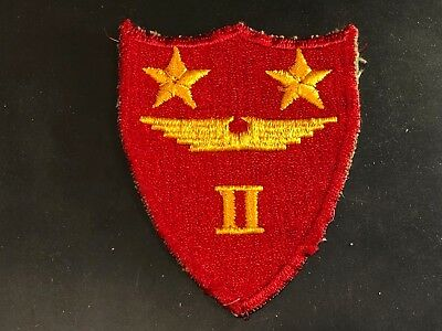 WWII Patch 2nd Marine Air Wing USMC Marines Cut Edge Pilot MAW Pearl Harbor