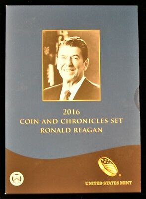 2016 Coin and Chronicles Set. R.Reagan. ITEM C65
