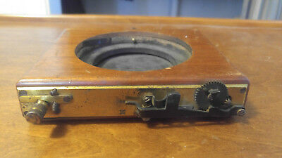 VINTAGE Wood camera and lens for parts