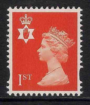 Northern Ireland 2000 sg NI88 1st 2 bands perf 14 booklet stamp MNH