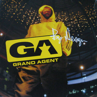 Grand Agent - By Design - 2LP - Groove Attack Kut Masta Kurt Lord Finesse