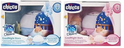 Chicco First Dreams Goodnight Stars Projector Blue Pink 0 months  #BargainTrend