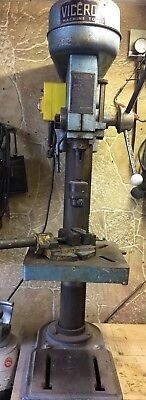 Viceroy Bench/ Pillar Drill Complete With Vice And Chuck Key