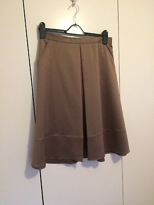 Ladies Brown/ Gold Skirt Size 12