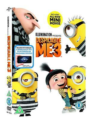 Despicable Me 3 New & Sealed DVD & Digital HD