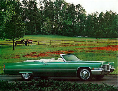 1970 Cadillac Deville convertible, Refrigerator Magnet, 40 MIL